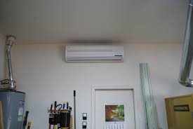 mitsubishi ductless ceiling mount air conditioning the shop the wood whisperer