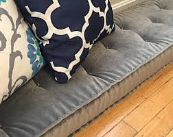 velvet bench cushion etsy