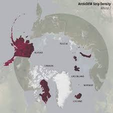 World Map Shapefile Esri by Esri Releases New Arctic Elevation Data