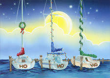 nautical christmas cards nautical greeting greeting cards ebay