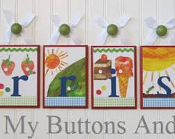 Hungry Caterpillar Nursery Decor Hungry Caterpillar Nursery Etsy