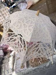 centerpieces for quinceaneras parasols shabby chic umbrella antique white for centerpieces