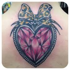 the 25 best diamond heart tattoos ideas on pinterest heart tat