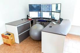 U Shaped Computer Desk U Shaped Gaming Desk Best L Shaped Computer Desk L Shaped Gaming