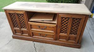 How To Build A Buffet Cabinet by How To Make An Old Dresser Into Media Cabinet Or Buffet Hometalk
