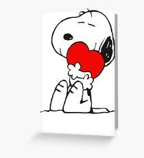 snoopy greeting cards redbubble