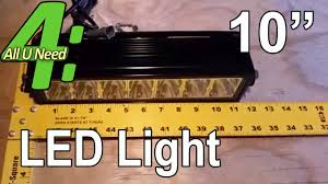 10 Inch Led Light Bar by Anzo 10