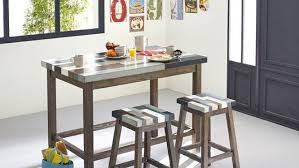 table haute avec tabouret pour cuisine table haute de cuisine table cuisine pas cher à découvrir