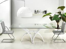 dining table alternatives high gloss white lacquer dining table by casabianca home manhattan
