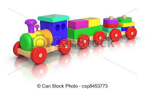 drawings of wooden toy train 3d rendered wooden toy train on