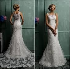 sheer lace back wedding dresses naf dresses