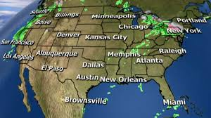 Weather Map Los Angeles by National Forecast For Thursday October 27 Fox News Video
