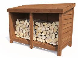 wood store wood store log storage outdoor firewood wooden kindling garden