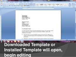 cover letter template microsoft word 2007 creating cover letters in microsoft word 2007