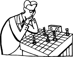 thinking doctor board coloring page wecoloringpage