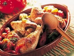 cuisine poulet basquaise poulet basquaise recette du quotidien maître coq