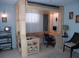 Design A Bed by Bed Small Space Home Decoration