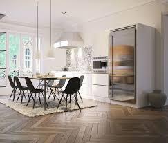 parquet cuisine ouverte parquet cuisine ouverte avec parquet dans cuisine industriel cuisine