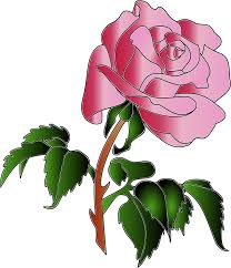 clipart rose colors