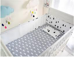 Crib Bedding Sets Unisex Aliexpress Buy Promotion 5pcs Cotton Baby Bumper