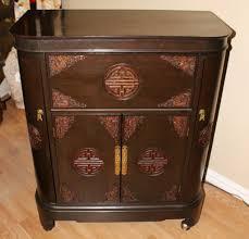 Asian Bar Cabinet George Zee Co Carved Dragons Teak Bar Cabinet Storage