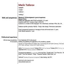 Web Developer Resume Interesting Ios Developer Resume 6 Ios Developer Resume Examples