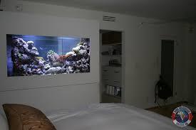 Wall Aquarium by Aquarium Design Aquarium Service Los Angeles Aquarium