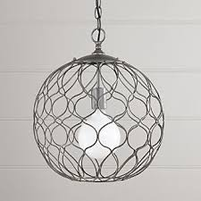 Black Iron Ceiling Light Ceiling Light Fixtures Crate And Barrel