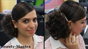 messy bun hairstyle for medium to long hair youtube