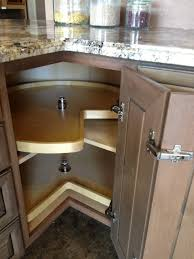 Blind Corner Kitchen Cabinet Creative Design Corner Rotating Kitchen Cabinet Outofhome