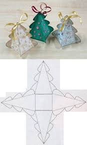 individual ornament gift boxes diy christmas tree box template diy projects usefuldiy