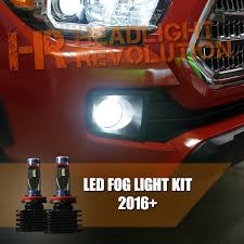 2016 toyota tundra fog light bulb 2016 2017 toyota tacoma led fog lights bulb upgrade gtr lighting