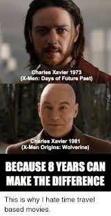 Internet Meme Origins - charles xavier 1973 x men days of future past harles xavier 1981 x