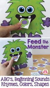122 best monster activities images on pinterest monster