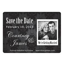 inexpensive save the date magnets black and white cheap save the date magnets inexpensive save