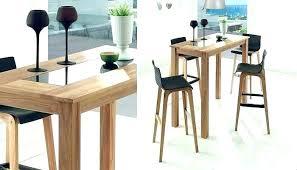 table haute pour cuisine chaise pour table haute gaard me