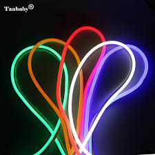 led outdoor strip lighting tanbaby ac220v led neon strip light 120led m 2835 ip67 waterproof