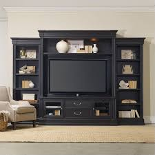 Black Hutches Entertainment Panel Hutches Seldens Home Furnishings
