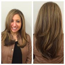 blowout by patricia marie haircut with long layers and angles in