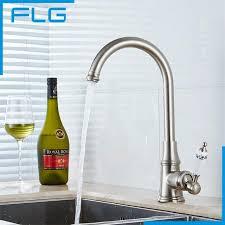 wasserhahn k che heißes und kaltes wasser hohe küchenarmatur poliert nickel finish