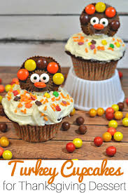 turkey cupcakes for your thanksgiving feast