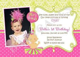 birthday invitation sample first birthday invitation wording and