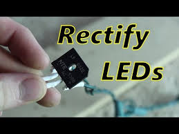 fix flickering led lights rectifying led lights