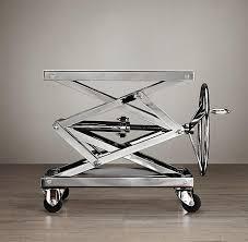 Restoration Hardware Side Table Tables Industrial Scissor Lift Table I Restoration Hardware