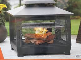 Costco Patio Heater by Outdoor Fireplace With Cooking Grate