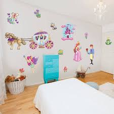 childrens fairytale princess wall stickers by the binary box childrens fairytale princess wall stickers