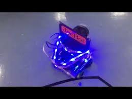 vex robotics led lights vex robot w 5 volt strip leds youtube