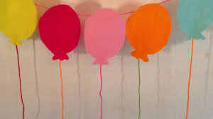 how to make birthday decoration at home handmade birthday decoration how to make a balloon garland for