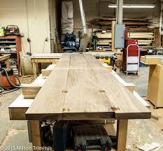 table top glue up walnut top glue up 1 trimitsis woodworking weblog