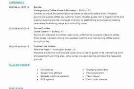 Starbucks Barista Job Description For Resume by Barista Resume Sample Barista Job Description Barista Job Resume